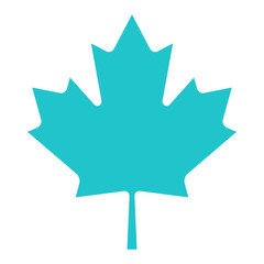 Canadian Maple Leaf Sign