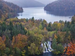 Autumn at Plitvice National Park, Dalmatia, Croatia