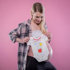 Lustige Babywäsche mit Spruch