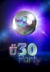 ü30 Party - Mirror Ball - Typo