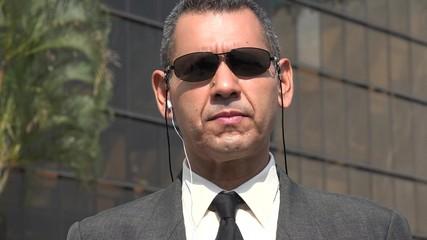 Fbi Or Security Agent