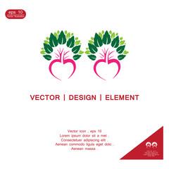 hearth tree vector logo