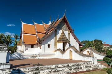 Aluminium Prints Monument Ancient thai temple. Phumin temple, Nan province, Thailand.