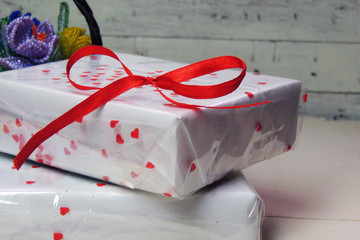 gift on Valentine's Day
