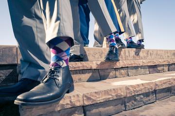 Groom mans socks