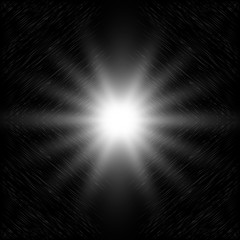 Abstraction. Abstract black background. Space abyss. Star of the galactic. Vector illustration.