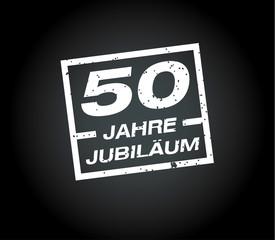 50 Jahre jubilaeum stempel