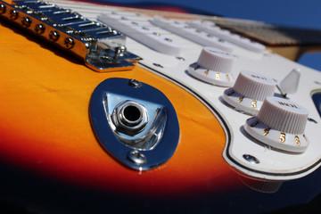 Conector de guitarra eléctrica (Fender Stratocaster)