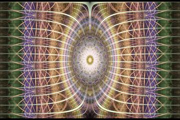 Abstract fractal art for creative design. Magic art background.