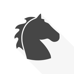Vector illustration of horse head - Illustration