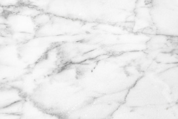White Carrara Marble natural light surface texture
