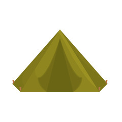 Camp where the military rest icon image vector illustration