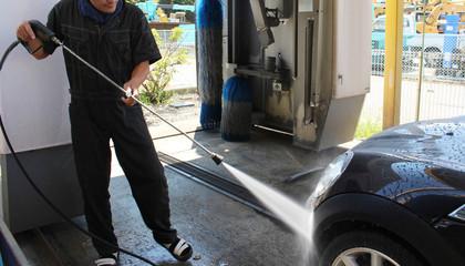 タイヤの洗浄