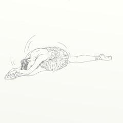 ballerina classica serigrafia
