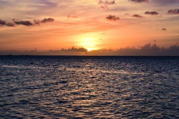 Sunset on the island of Saipan