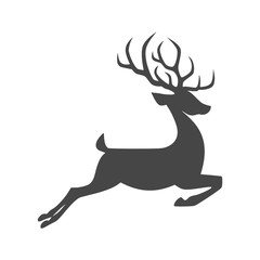 Deer icon - vector Illustration