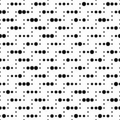 Seamless Circle and Stripe Pattern