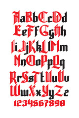 New gothic font