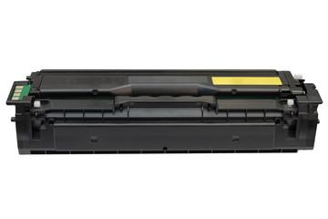 printer cartridge isolated on white background