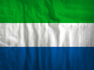 Sierra Leone flag texture background