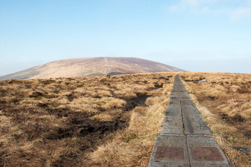 Djouce Mountain, Wicklow, Ireland