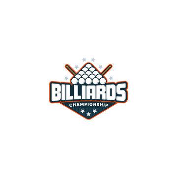 Billiards badge logo