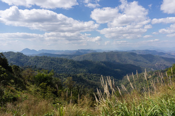 Scenic view during the Mae Hong Son loop, Thailand