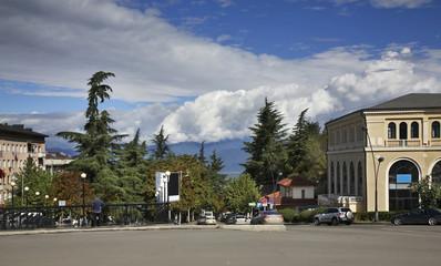 View of Telavi. Georgia