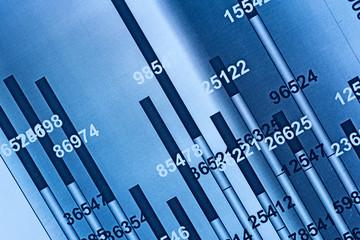 Detail graphics stock exchange