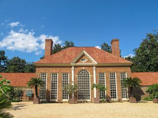 Greenhouse and Garden at Mount Vernon, Virginia