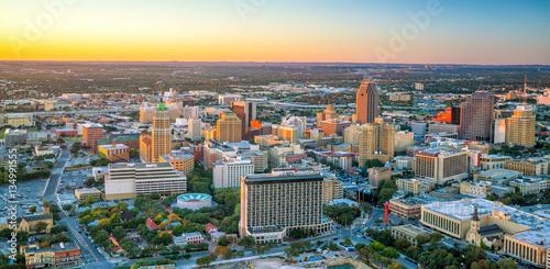Fotomurales Downtown San Antonio skyline