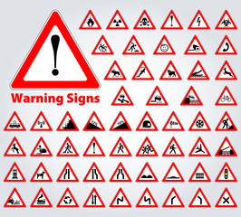 Gefahrzeichen - Warnschild