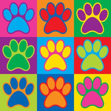 Pop Art Paws
