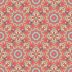 cute geometric ethnic tiled mosaic