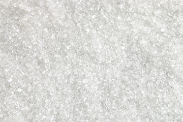 White sugar texture and background