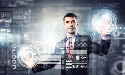 Innovative technologies in use . Mixed media
