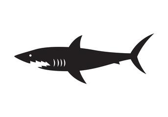 icon shark, vector