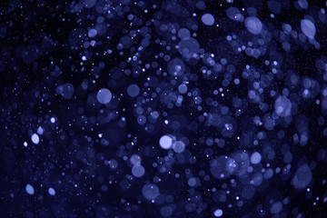 defocused abstract blue lights background