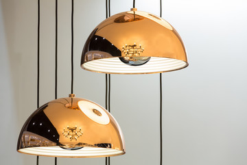 Modern style bronze lamps