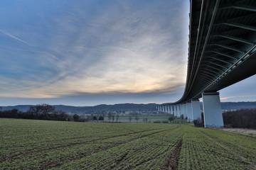 Mintarder Bridge At Muehlheim/ Ruhrtal Bridge