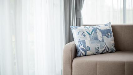 Beige color sofa