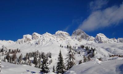 mountain view (Dolomites Alps Italy)