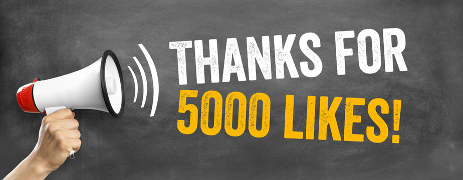 Thans for 5000 Likes