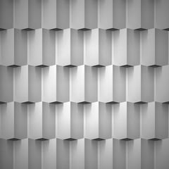 Volume realistic vector texture, cubes, gray geometric pattern, design wallpaper