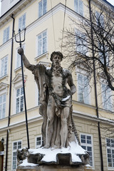 Sculpture Of Neptune, Lviv, Ukraine