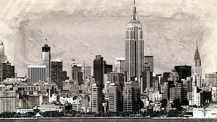 Office Buildings And Midtown Manhattan