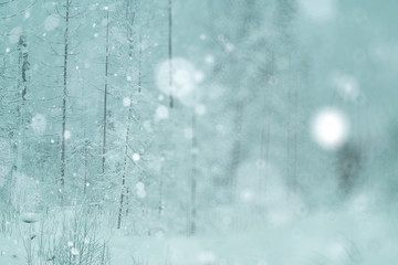 blurred background winter snow gloomy depression