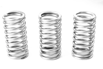 Metal stainless spring spare parts for industry.