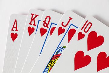 Playing Cards Royal Flush