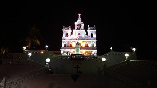 Immaculate conception Church Altinho Panaji, GOA India